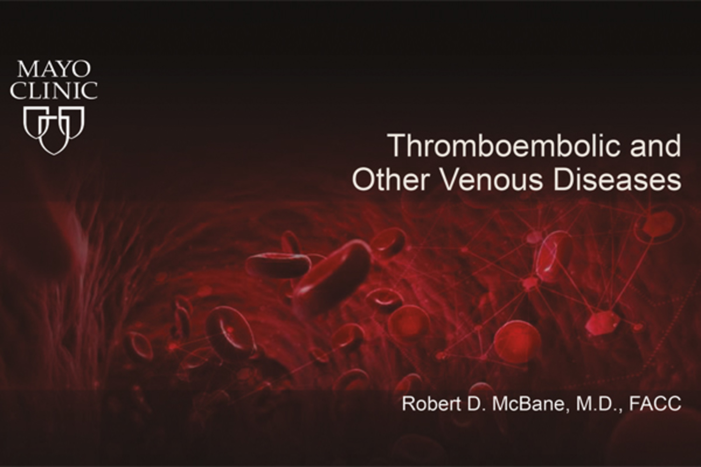 Thromboembolic and Other Venous Diseases