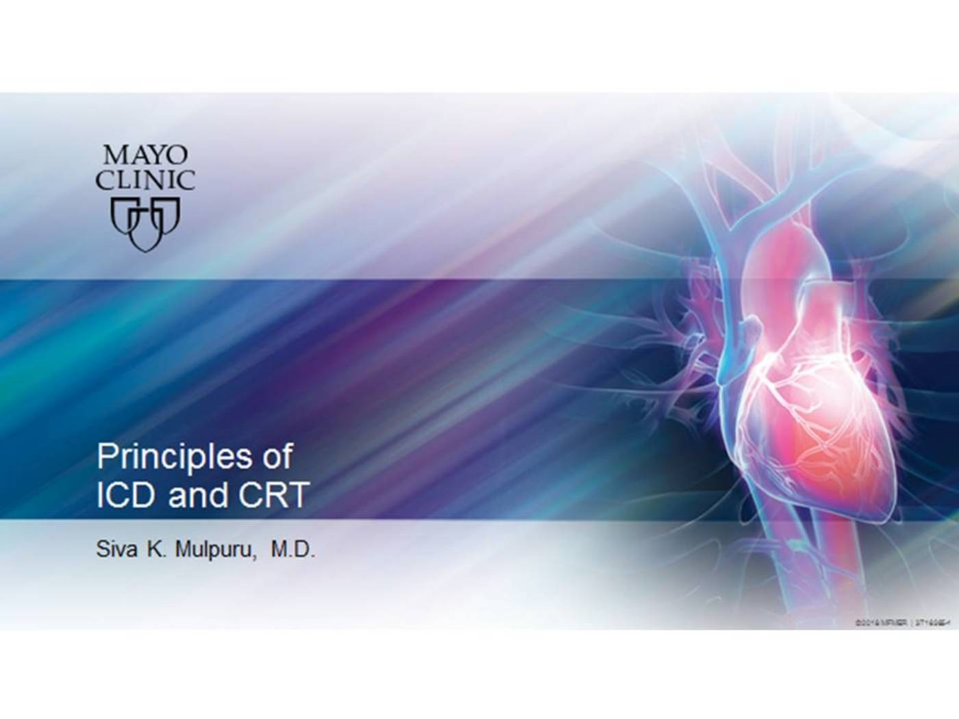 Principles of ICD and CRT
