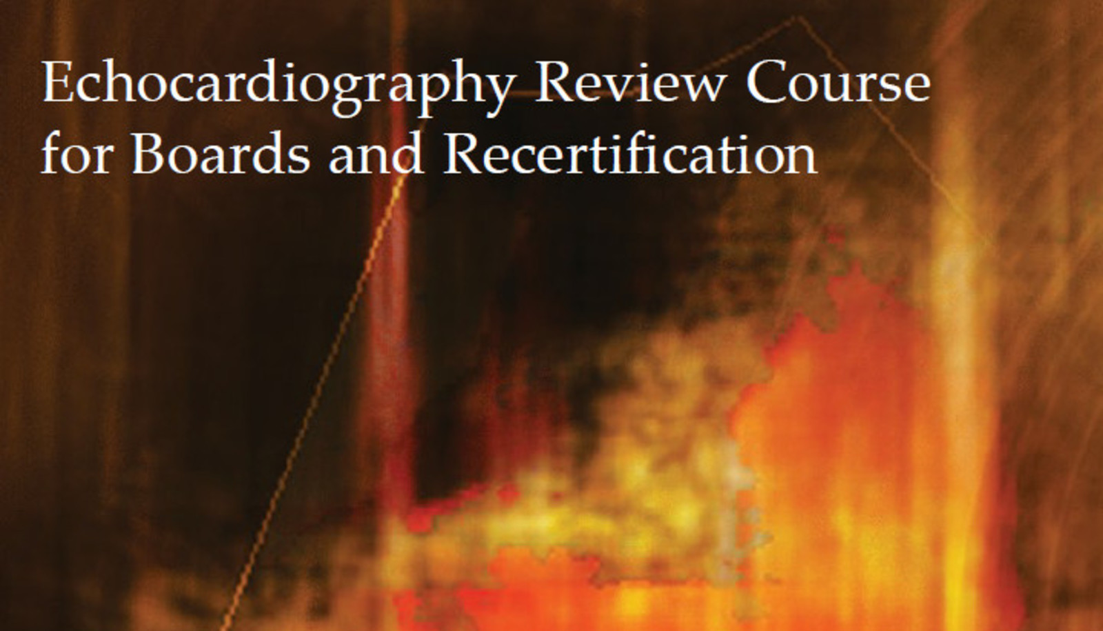 Mayo Clinic Echocardiography Review Course for Boards and Recertification
