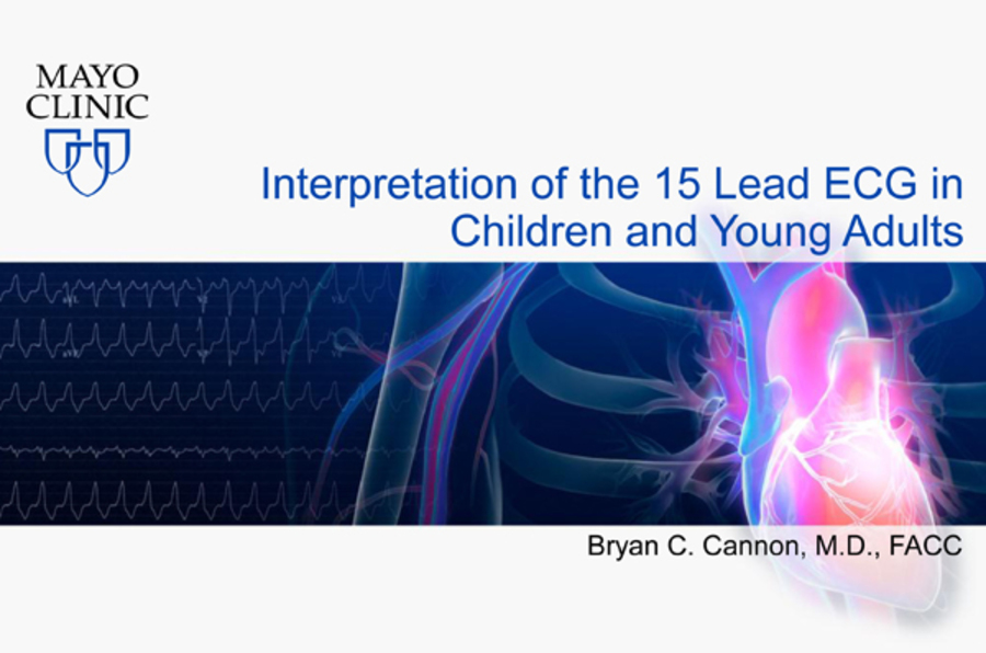 Interpretation of the 15 Lead ECG in Children and Young Adults