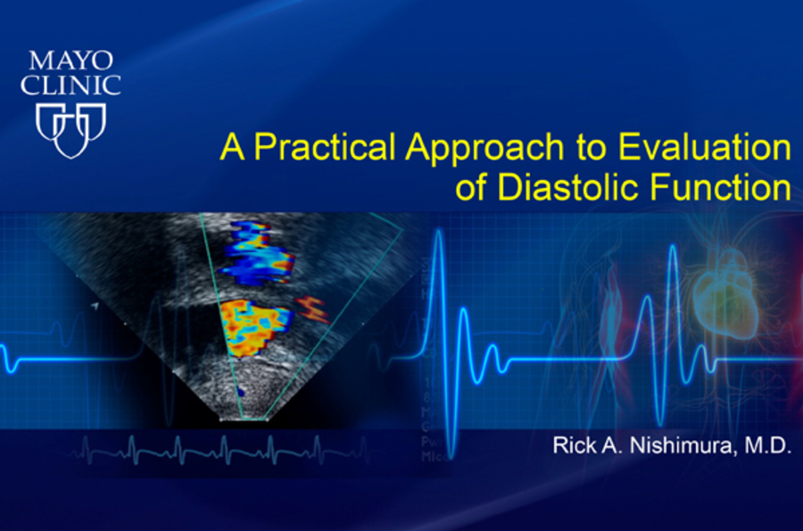 A Practical Approach to Evaluation of Diastolic Function