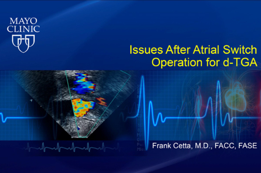Issues after Atrial Switch Operation for d-TGA