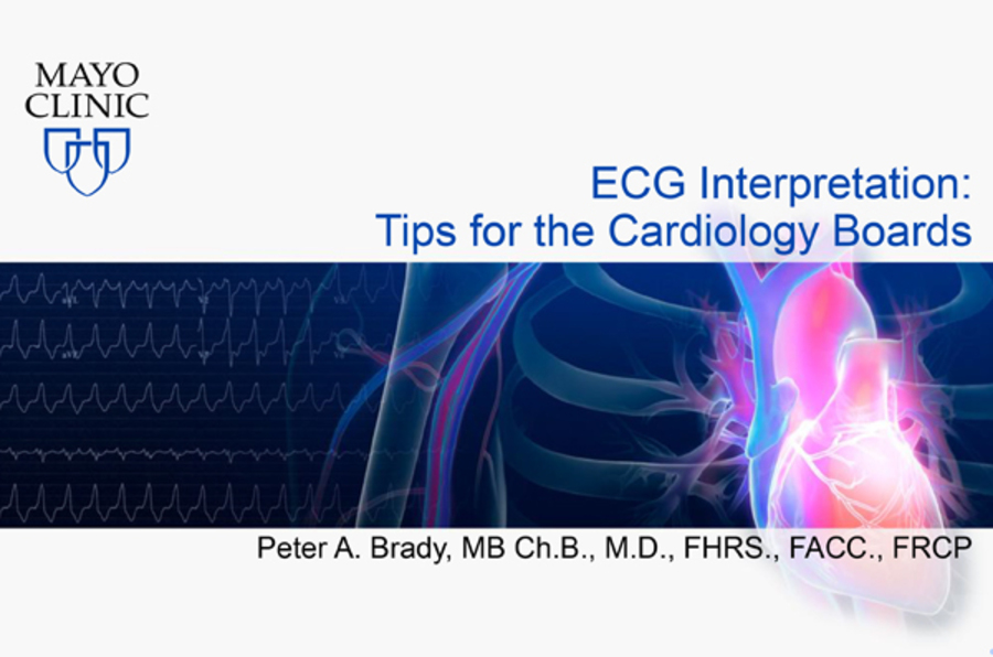 ECG Interpretation:  Tips for the Cardiology Boards