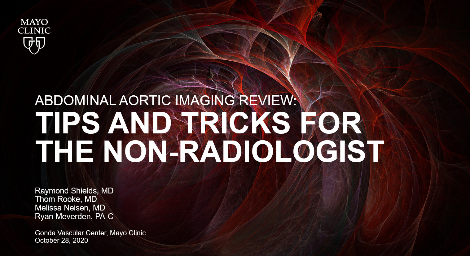Preview image aortic imaging